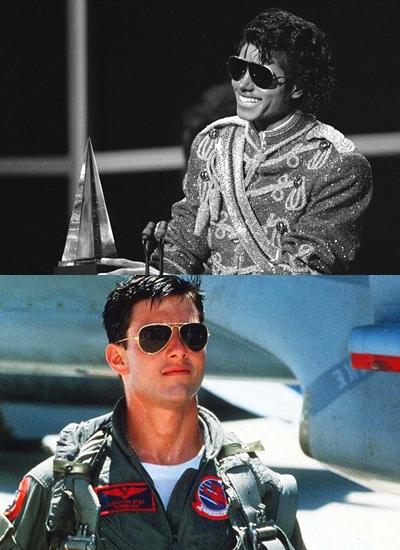 Kính phi công Tom Cruise Michael Jackson