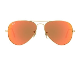 kính RayBan Aviator RB3025-112/69 tráng gương cam đỏ