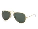Kính Ray-Ban Aviator RB3025-L0205 tròng xanh gọng vàng