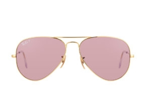 Kính Ray-Ban Aviator RB3025-001/15 Polarized hồng