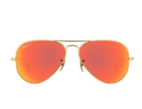 Kính Ray-Ban Aviator RB3025-112/4D Polarized tráng gương đỏ