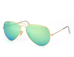 Kính Ray-ban Aviator RB3025-112/P9 Polarized xanh lá