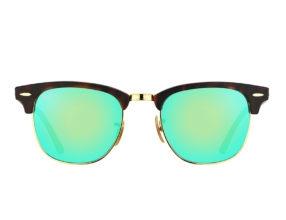 Kính Ray-Ban Clubmaster RB3016-1145/19 xanh lá tráng gương