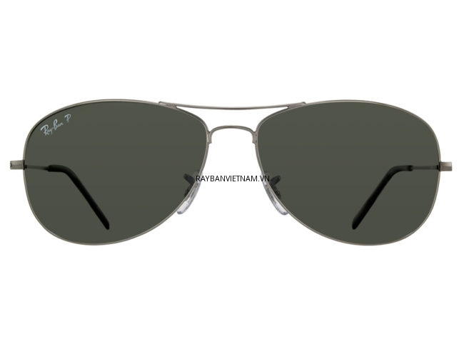 Kính Ray-Ban Cockpit RB3362-004/58 xanh lá Polarzied