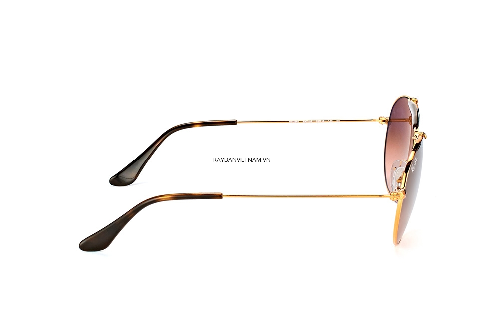 Kính Ray-Ban Highstreet RB3540-9001/A5 tròng nâu chuyển màu