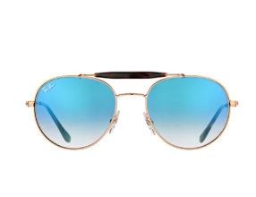Kính Ray-Ban Highstreet RB3540-9035/3F tròng xanh dương đổi màu