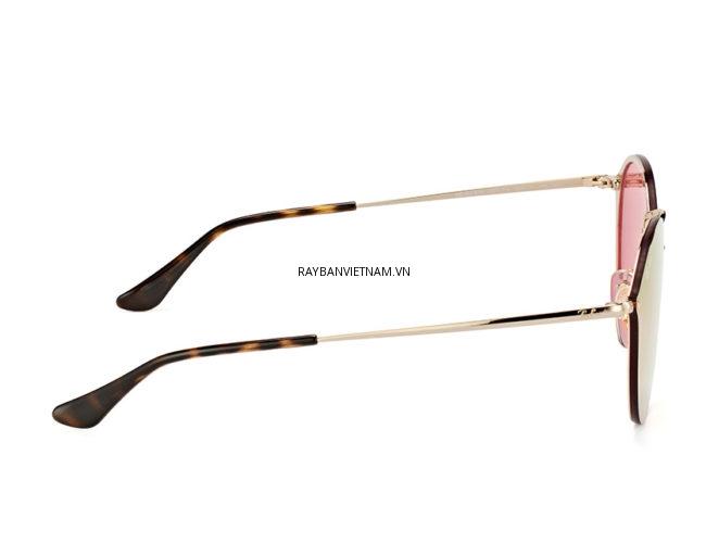 Kính Ray-Ban Blaze RB3574N-001/E4 tròng tráng gương hồng