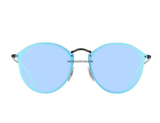 Kính Ray-Ban Blaze RB3574N-153/7V tròng tráng gương xanh